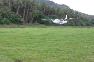 Landing at Lamap